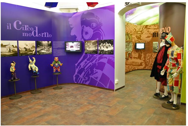 Un'immagine del Museo della Giostra