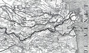 La rotta della cucca ha modificato l'idrografia fluviale di tutto il basso veneto