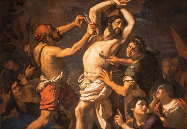 Il martirio di San Bartolomeo, ammirabile durante In viaggio tra gli equinozi