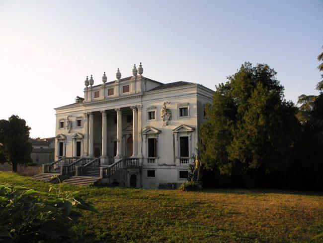 Villa Nani Mocenigo a Canda, dove si esibiranno i Volosi