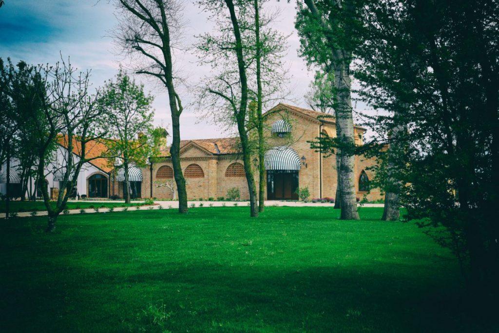 La Romanina, location dello spettacolo dei Tanto par ridare