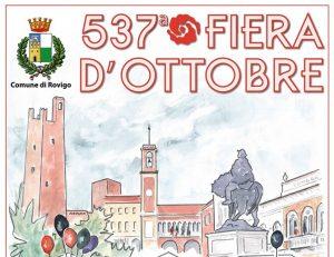 La locandina della 537° Fiera Di Ottobre