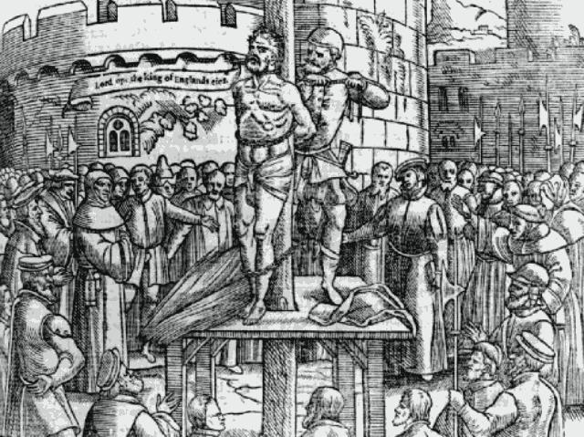 Tyndale Martyrdom