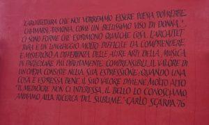 Pax Tibi Carlo Scarpa 16