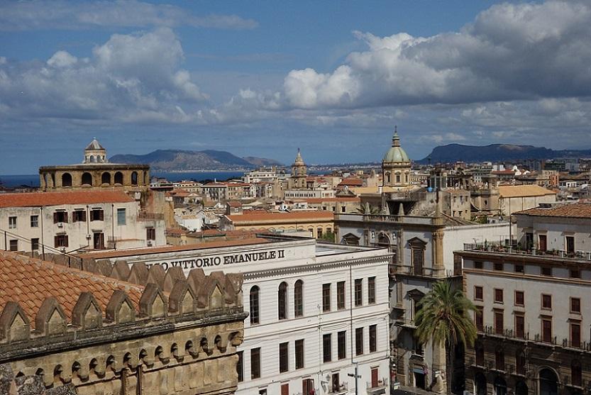 Palermo la città di Alessio Arena