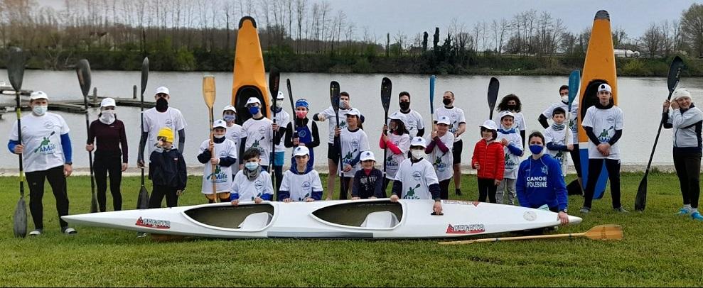 gruppo canoe Amate La Canoa Ridim.