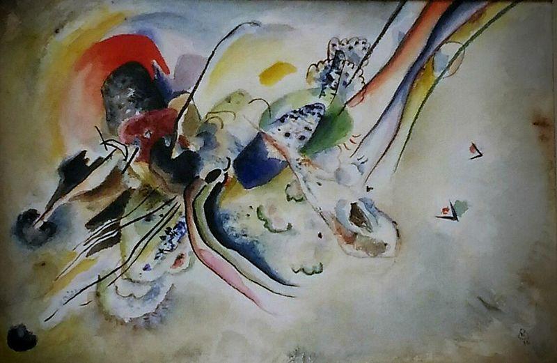 vedere la musica Composizione Di Kandinskji Wik