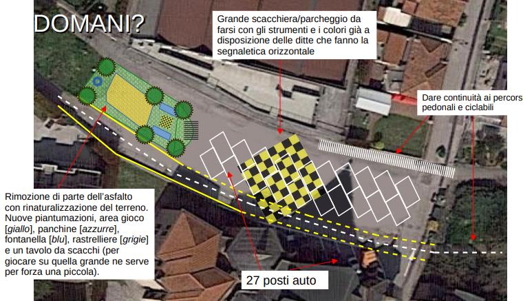 Estratto Progetto Urbanismo Tattico Fiab