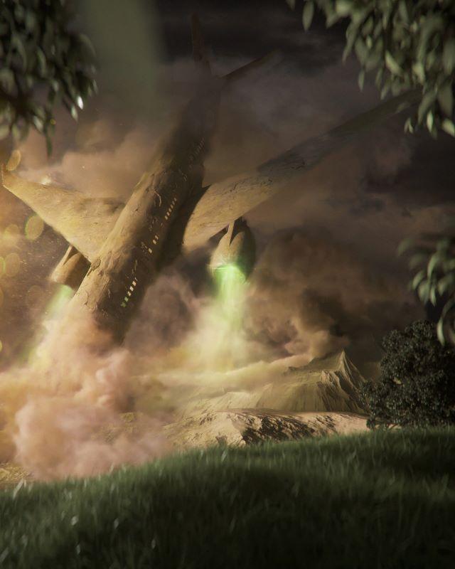 Elia Pellegrini - Attraction Ancient Future - surrealism
