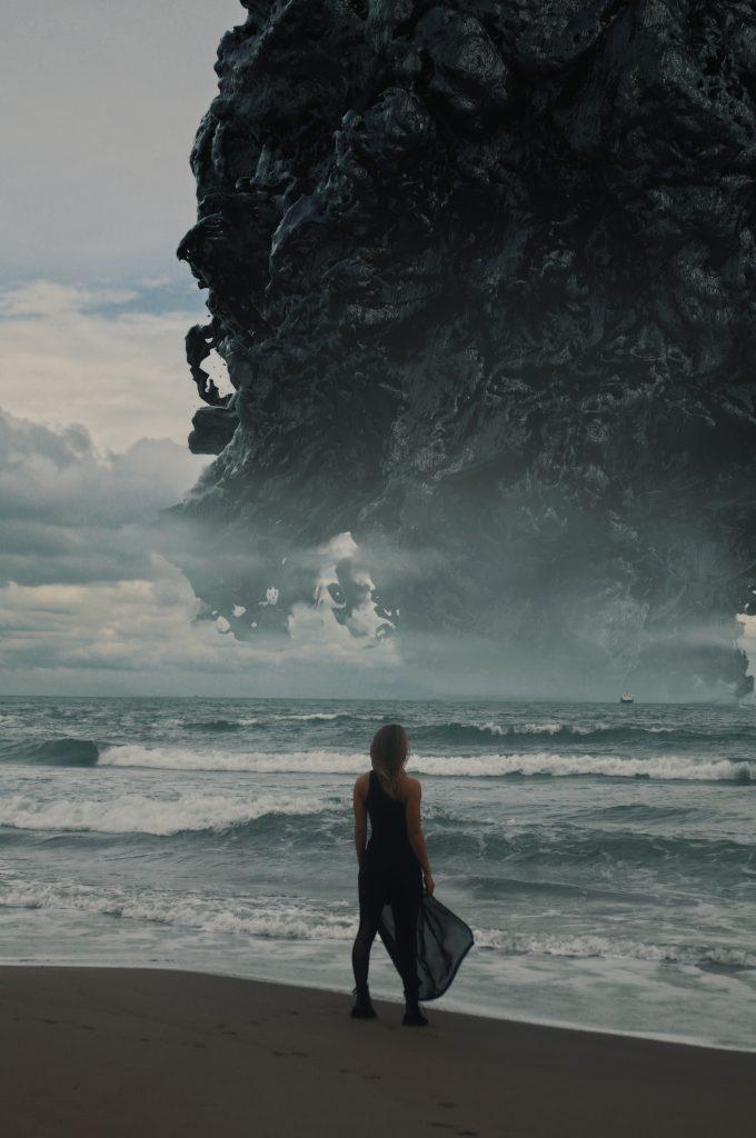Elia Pellegrini - Dark Matter Ancient Future - surrealism