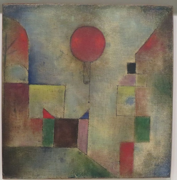 Palloncino Rosso Klee