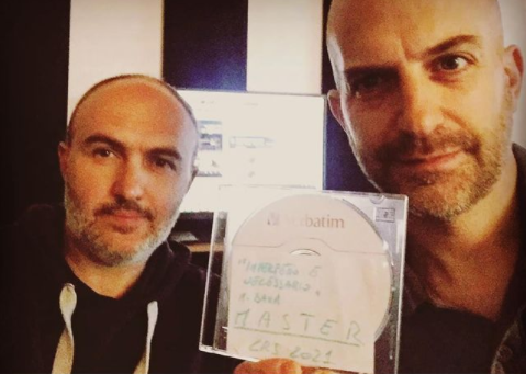 """Cristiano Gallian e Marco Baxa - Master del disco """"Imperfetto e necessario"""""""