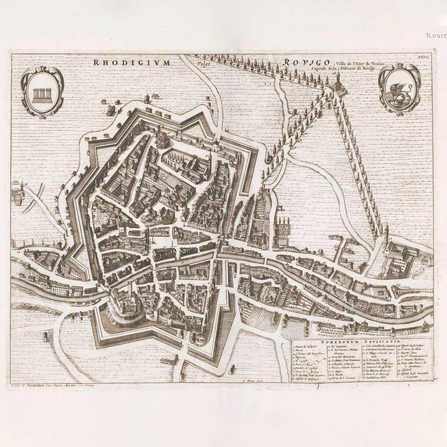 Mappa Rovigo