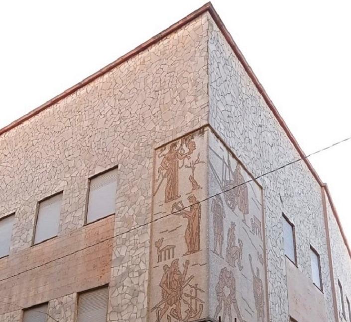 Mosaico Liceo Celio1