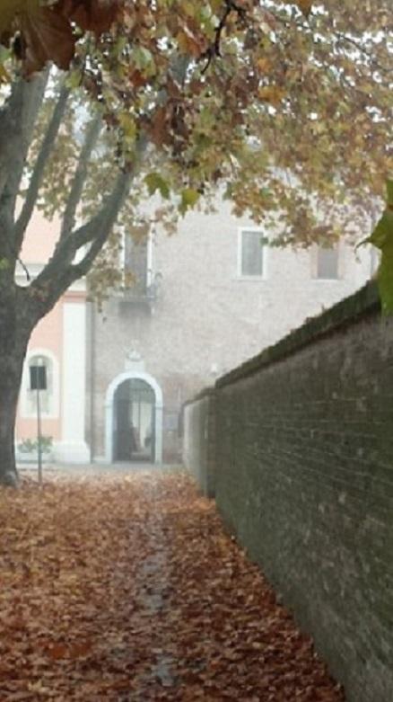 Ingresso Museo Grandi Fiumi Chiostro Olivetani