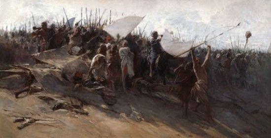 Cacciata dei Saraceni da Salerno