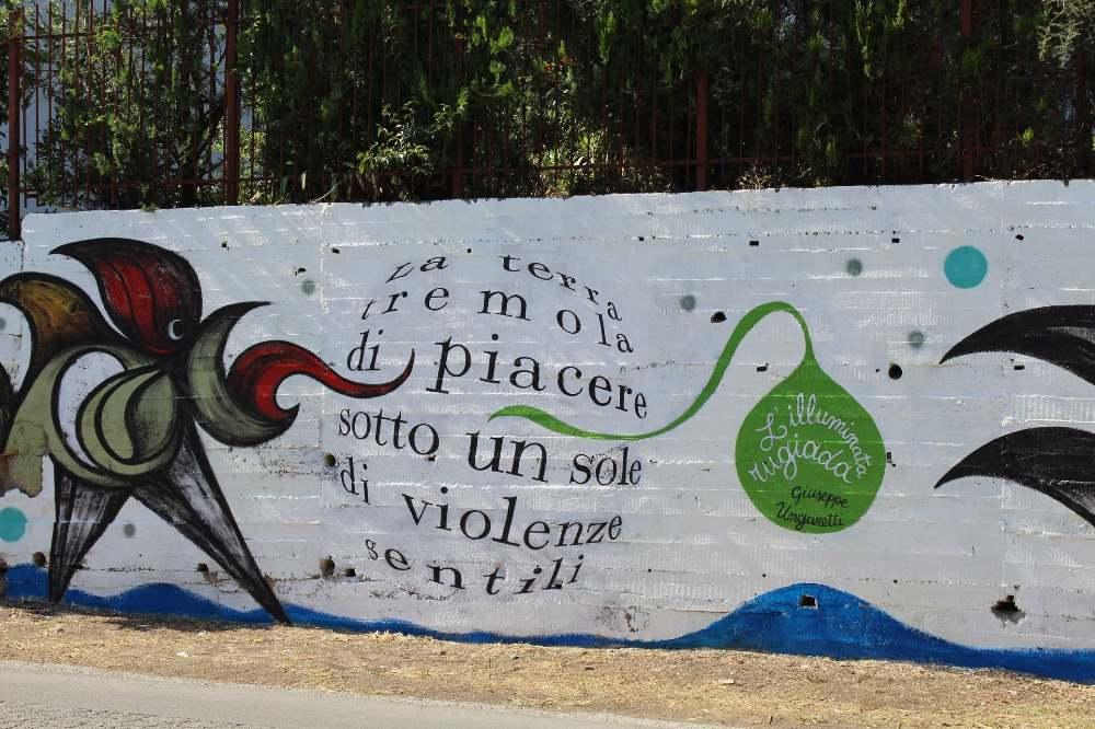 Street Art - Ungaretti