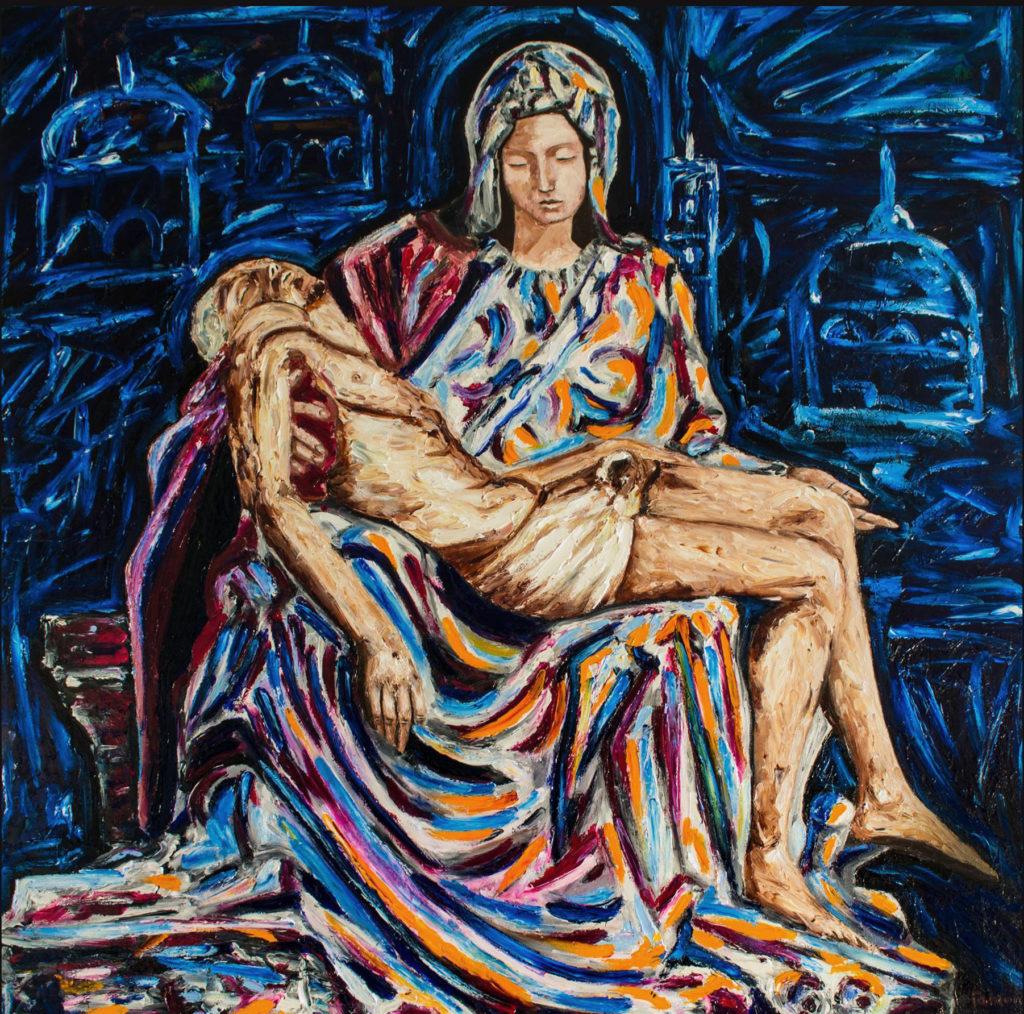Opera di Vito Antonio Faraone - Pietà e visioni romane