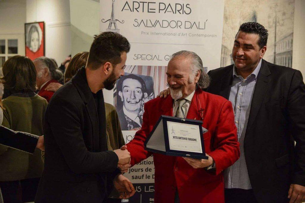 Vito Antonio Faraone premio Salvador Dalì 2017