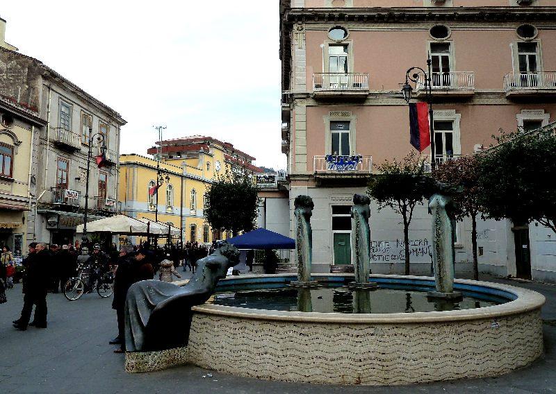 Piazza Amendola - Fontana della Fertilità a Nocera Inferiorie