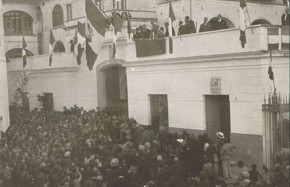 Umberto di Savoia a Villa Pastore