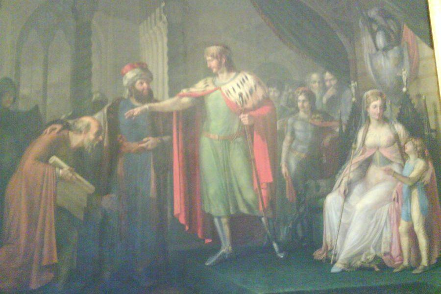 Gaitelgrima - La corte di Roberto il Guiscardo