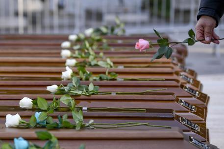 Migrants' funerals in Salerno