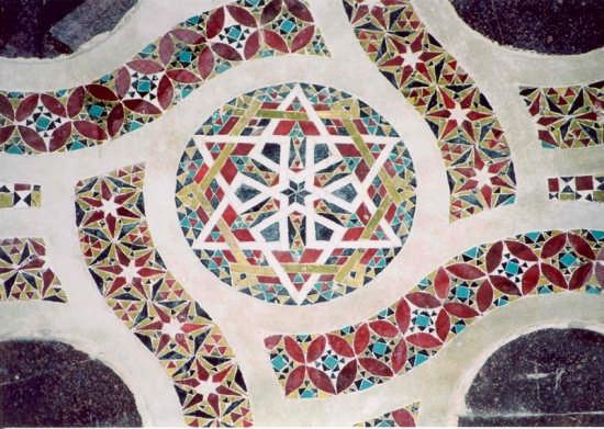 Mosaico nel Duomo