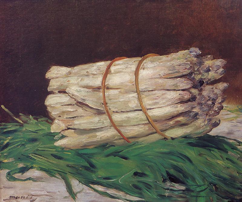 Il mazzo di Asparagi di Manet