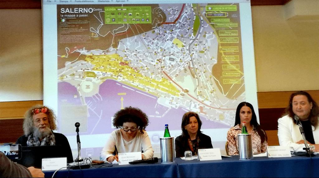 Presentazione della mappa a passi di Salerno al Grand Hotel Salerno
