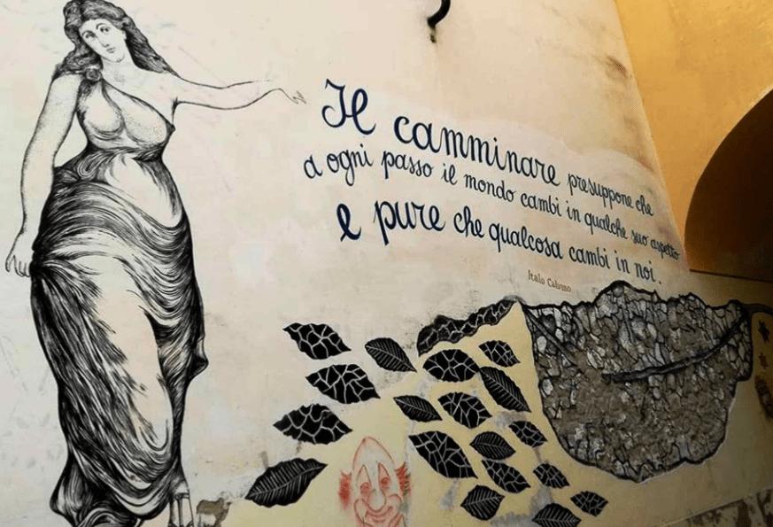 Murales nel Centro Storico di Salerno