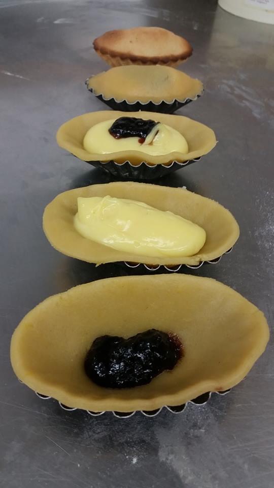 Pasticciotto in produzione