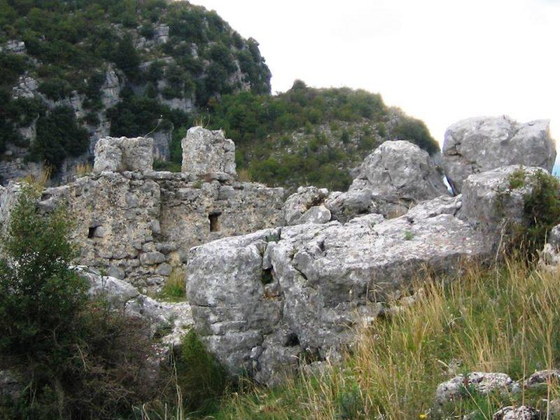 Sacco (SA), il vecchio abitato