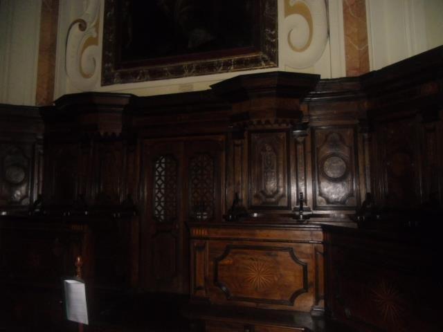 Sacco (SA), interno della chiesa