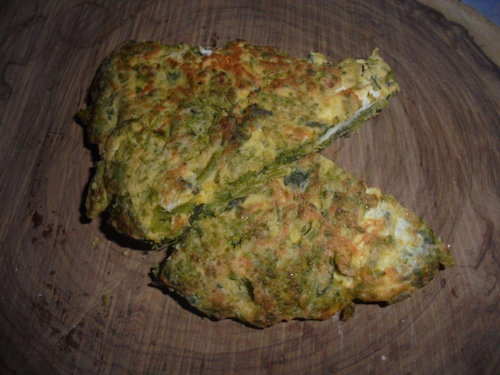 Orto del Cilento - frittata di broccoli, foto di Giuseppe Conte