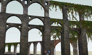 La collina Bonadies - Immagine di un acquedotto