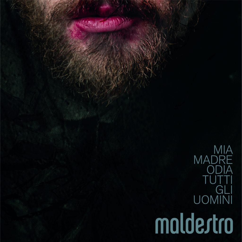 La cover dell'album di Maldestro, Mia Madre Odia Tutti Gli Uomini.