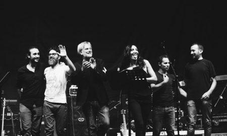 Marina Rei e la sua band