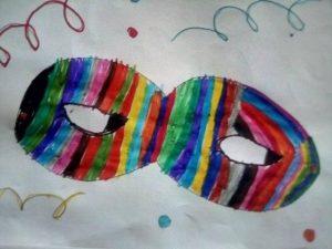 Carnevale nel Cilento - maschera di carnevale