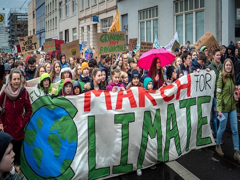 Greta contro il cambiamento climatico