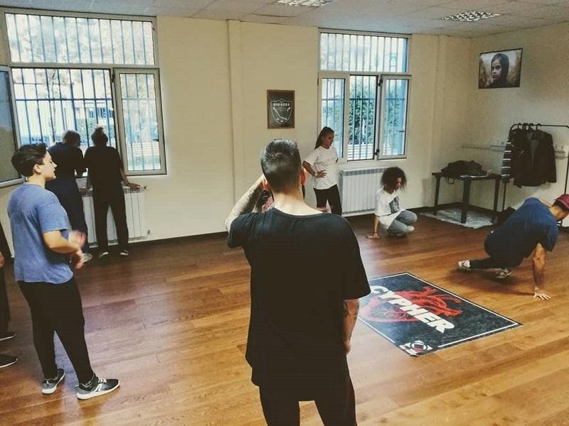 The Square - il laboratorio di breakdance