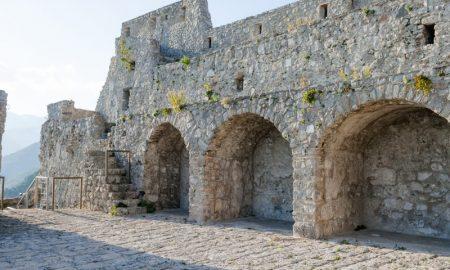 Castello di Arechi - La fortezza di Arechi II