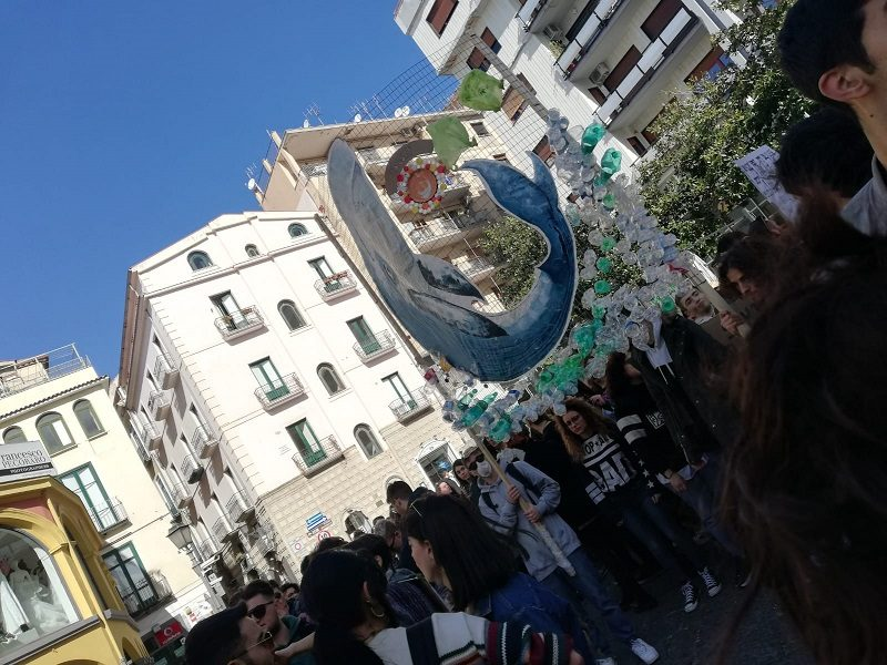 Greta e i Fridays For Future A Salerno