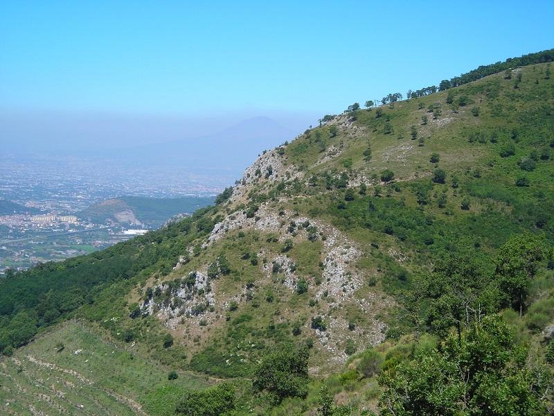 Uno scorcio da Cava de' Tirreni