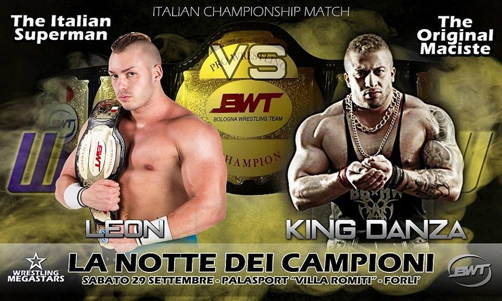 """Giuseppe """"King"""" Danza - Match per il titolo"""