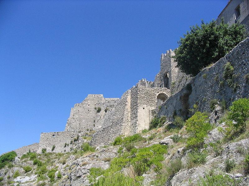 Il Castello Arechi, fortezza della città.