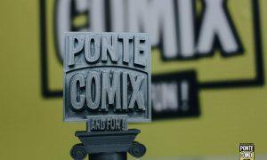 Pontecomix - Il logo stilizzato della scorsa edizione