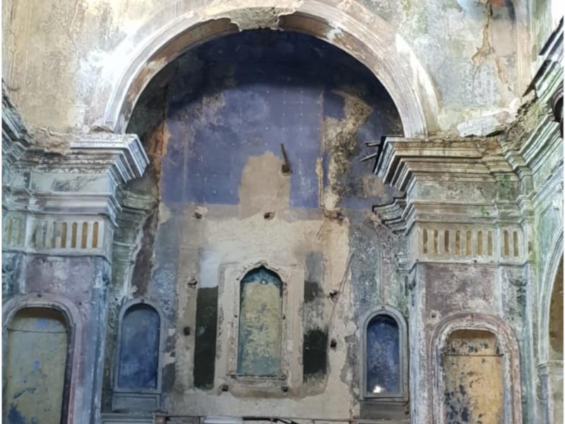 Romagnano al Monte e la chiesa madre in rovina