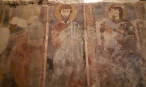 Santi raffigurati sulle pareti di San Pietro
