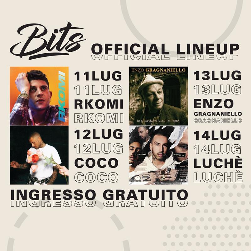 BITS - gli artisti della settima edizione